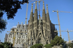 Barcelona. Sagrada.familila. EuroSpain Travel