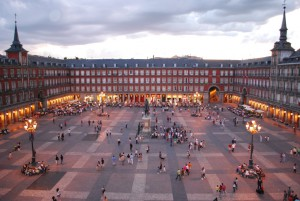 Madrid. Plaza_Mayor_de_Madrid. EuroSpain Travel