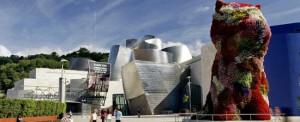 Spain. Bilbao. museo-guggenheim-puppy-bilbao-EuroSpain Travel