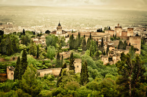 Spain. Granada. La Alhambra. EuroSpain Travel