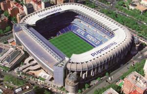 Spain. Madrid.Bernabeu.EuroSpain Travel