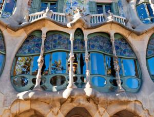 Spain.Barcelona.Casa Batllo.EuroSpain Travel
