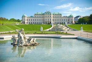 Vienna. Belverdere Palace. EuroSpain Travel