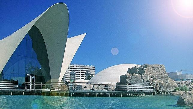 Spain. Valencia. Oceanografic Valencia. EuroSpain Travel
