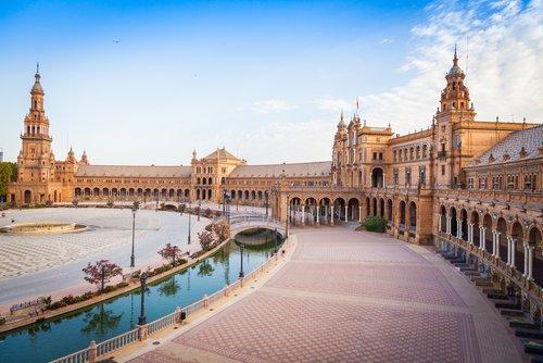 Spain. Sevilla. Plaza España. Euro Spain Travel (2)