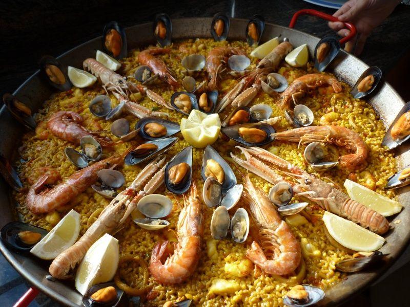 Spain. Spanish gastronomy. Paella. EuroSpain Travel