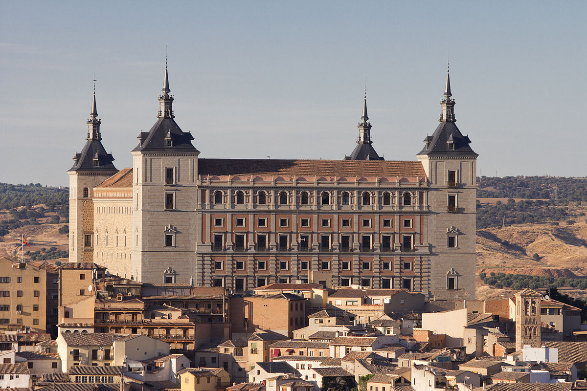 Spain. Toledo Alcazar. EuroSpain Travel