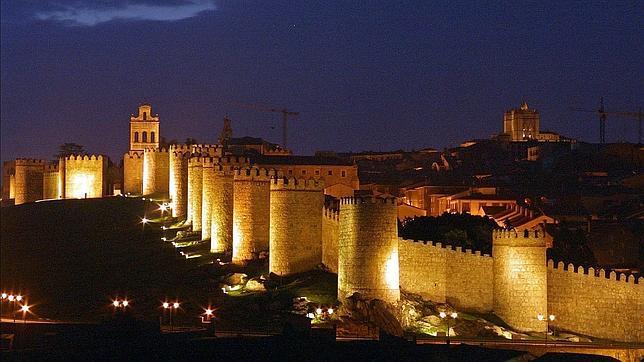 Spain. The wall of Avila. EuroSpain Travel